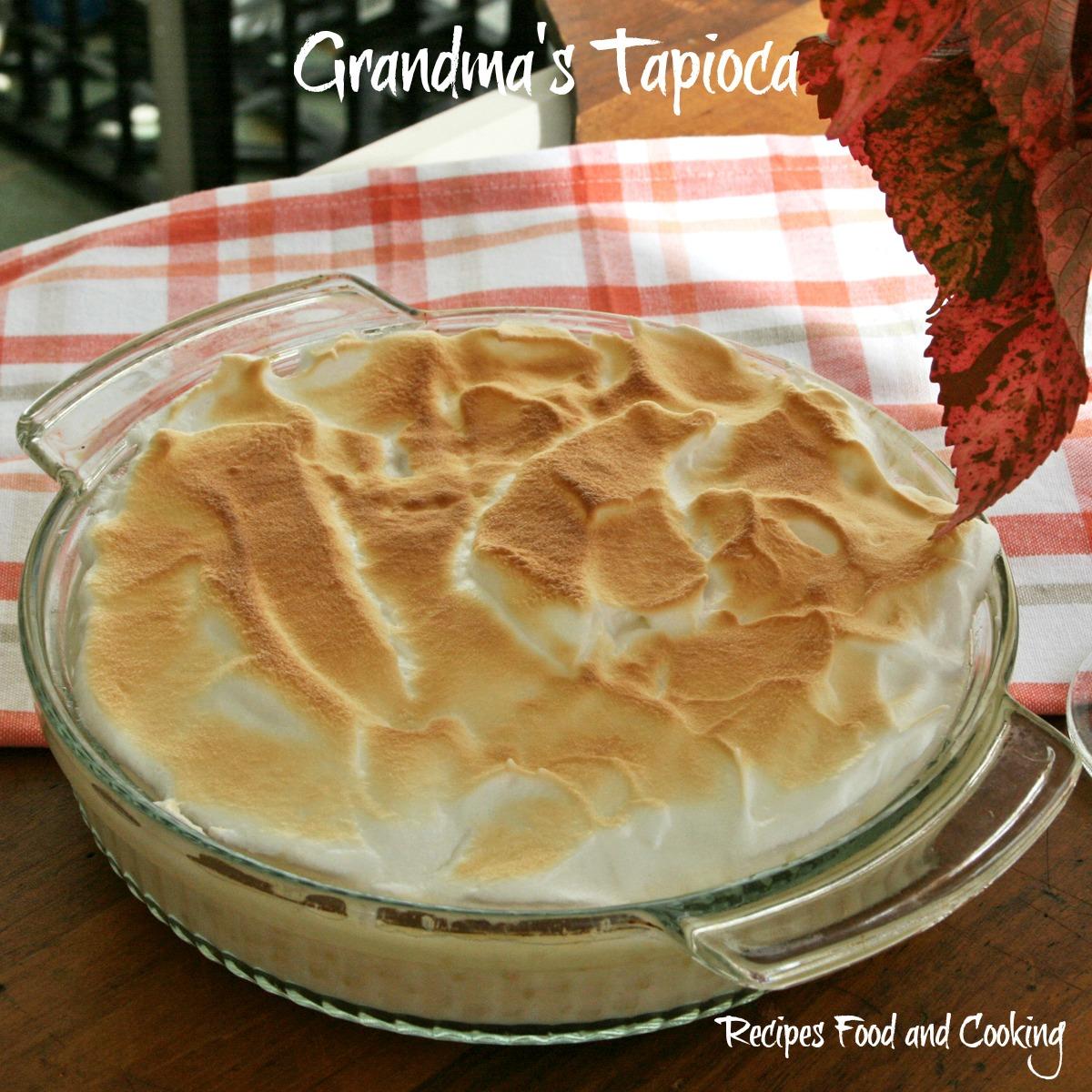 Grandma's Tapioca
