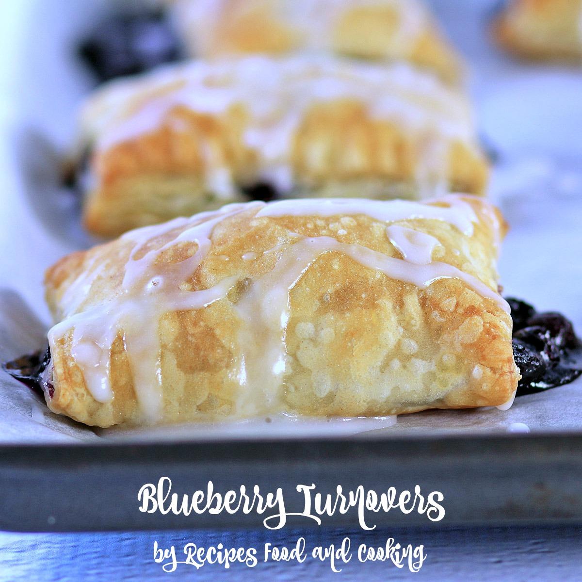 Baked Blueberry Tarts