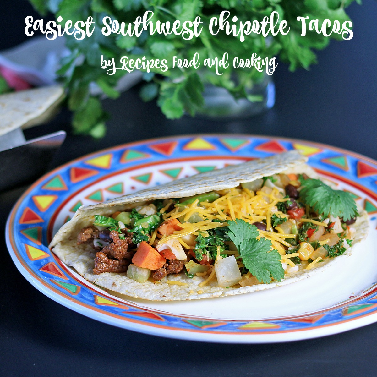 Easiest Southwest Chipotle Tacos