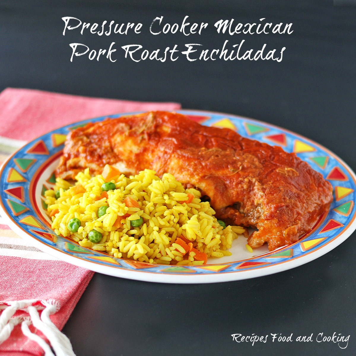 Mexican Pork Roast Enchiladas