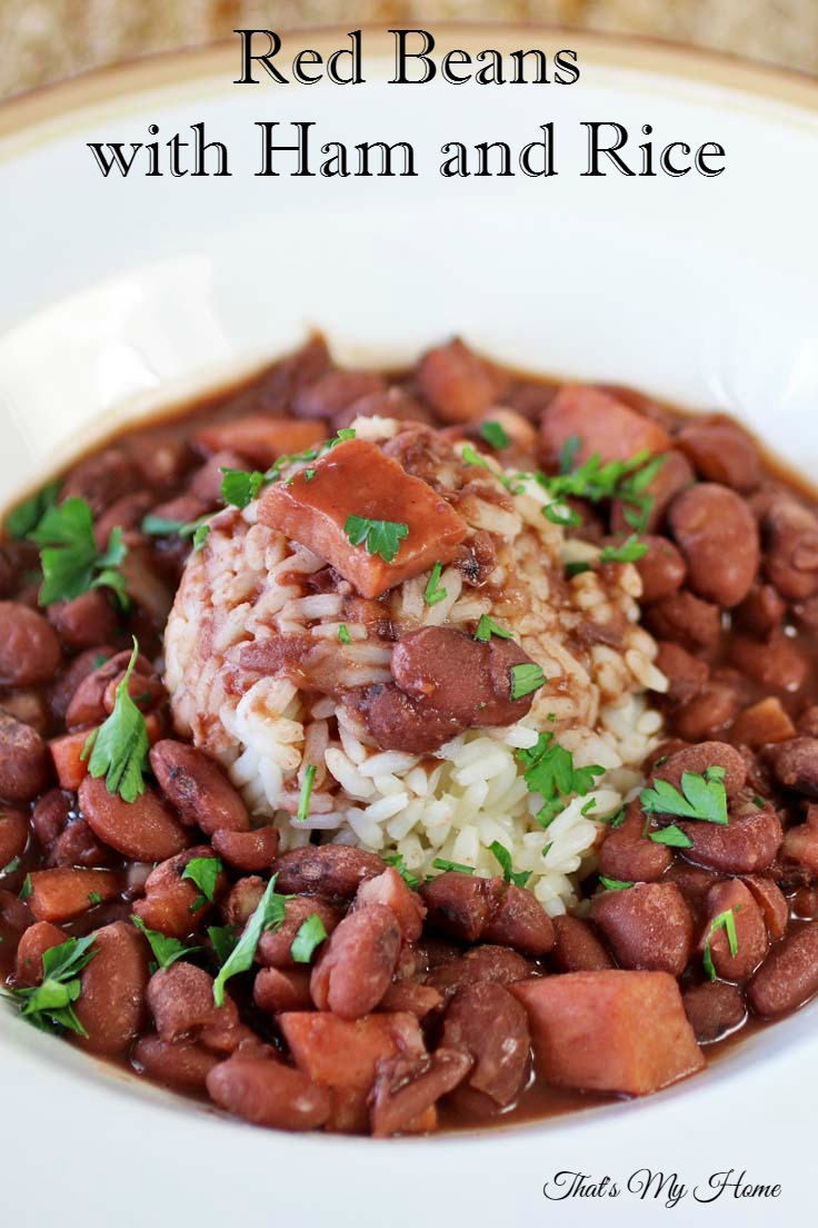 Red Beans with Ham and Rice