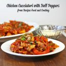 Chicken Cacciatori with Bell Peppers