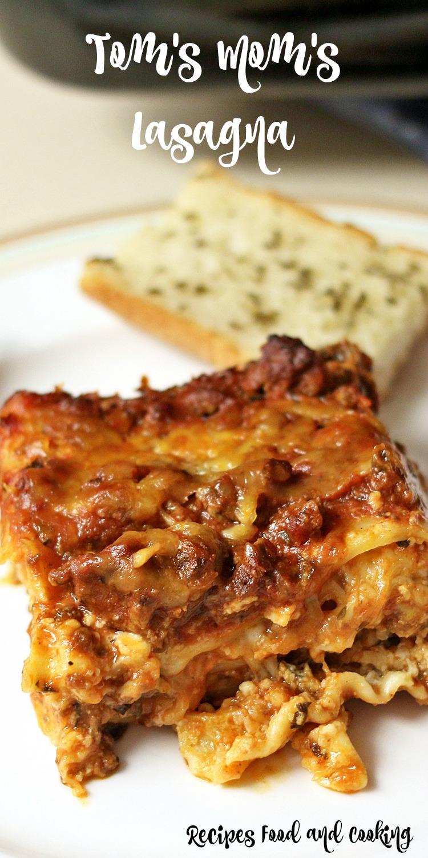 Tom's Mom's Lasagna