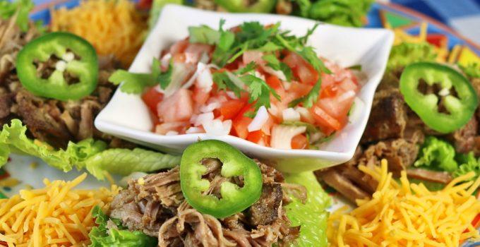 Pressure Cooker Pork Carnitas Lettuce Wraps