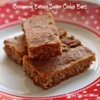 Cinnamon Brown Sugar Cookie Bars
