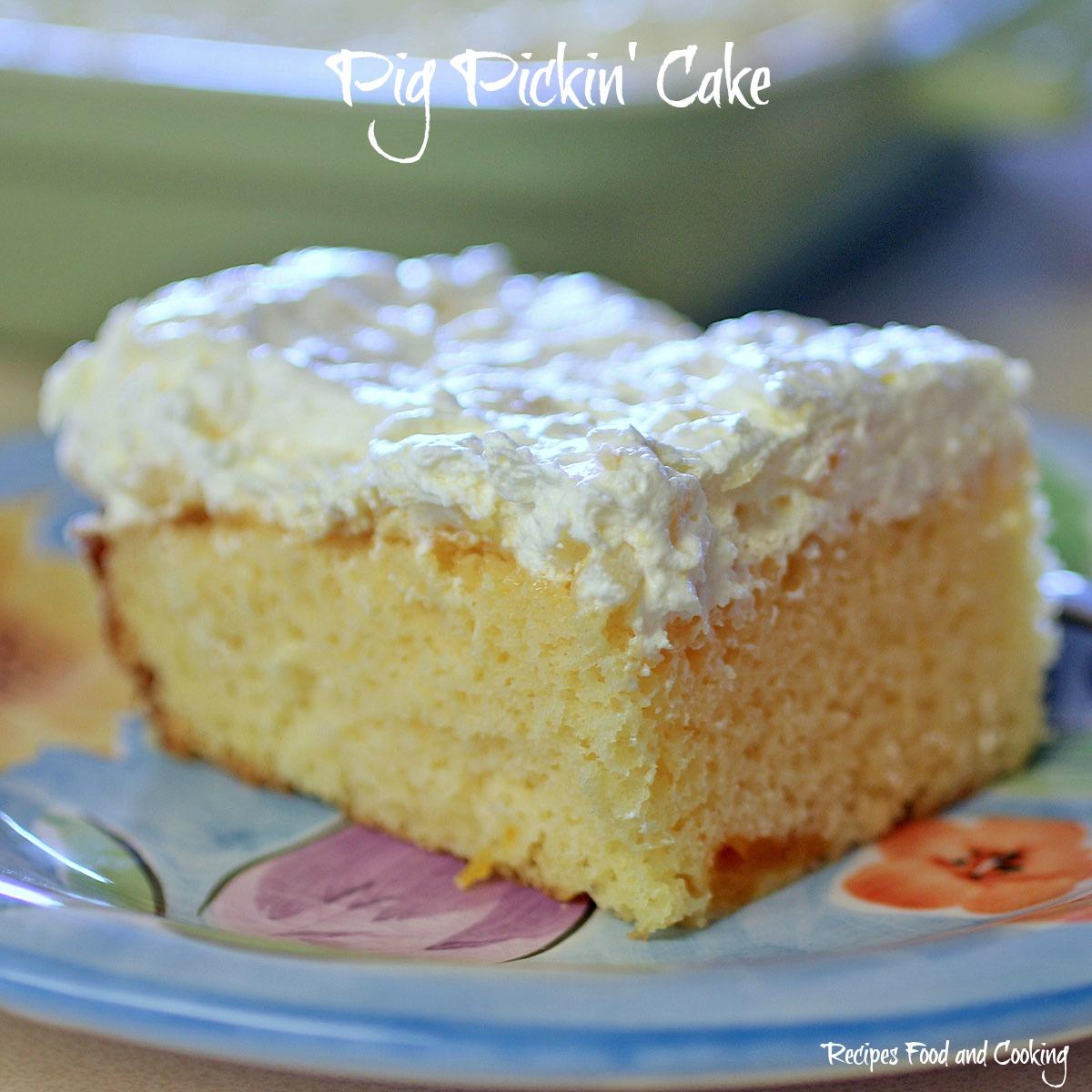 Pig Pickin Cake