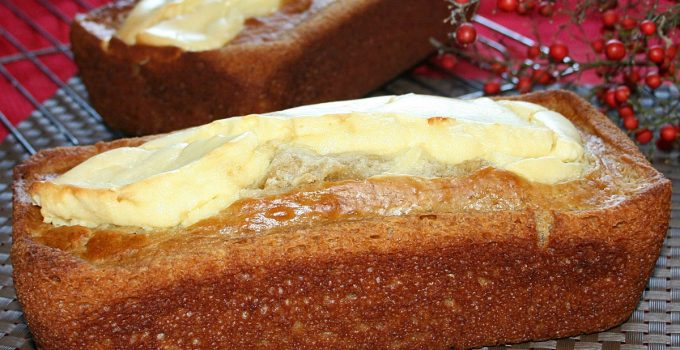 Buttermilk Banana Cream Cheese Bread