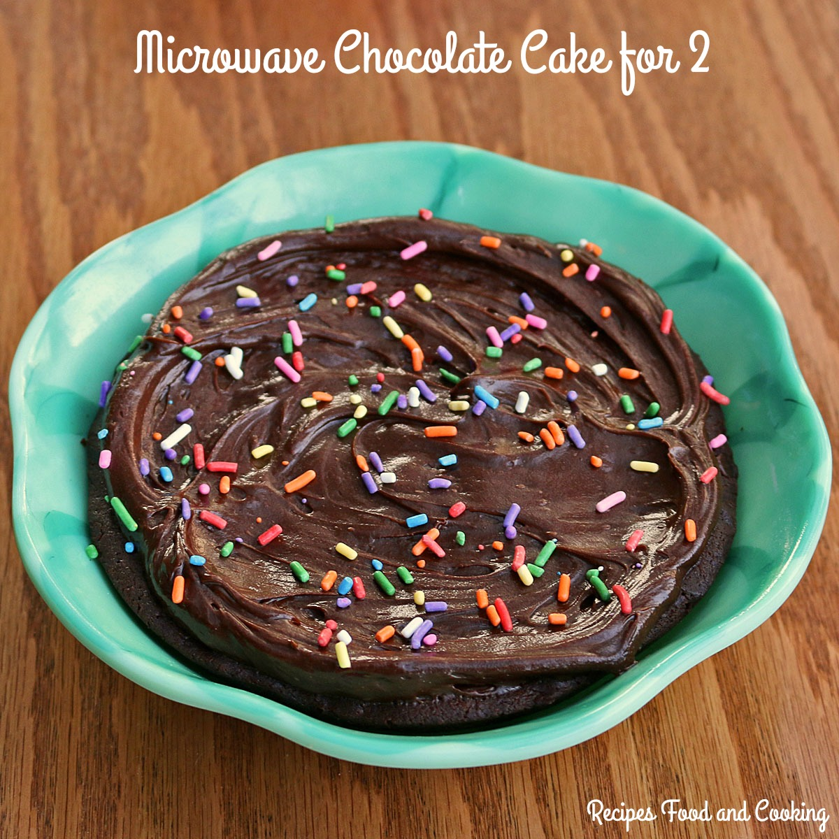 Chocolate Cake for 2