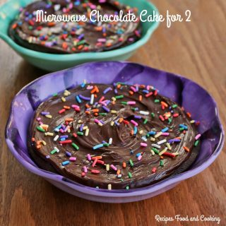 Chocolate Cake for 2