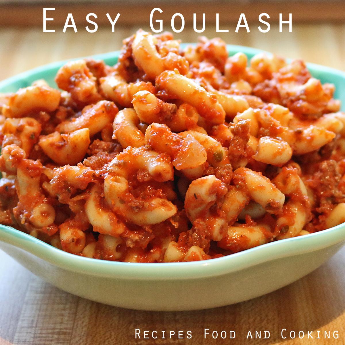 Easy goulash forumfinder Choice Image