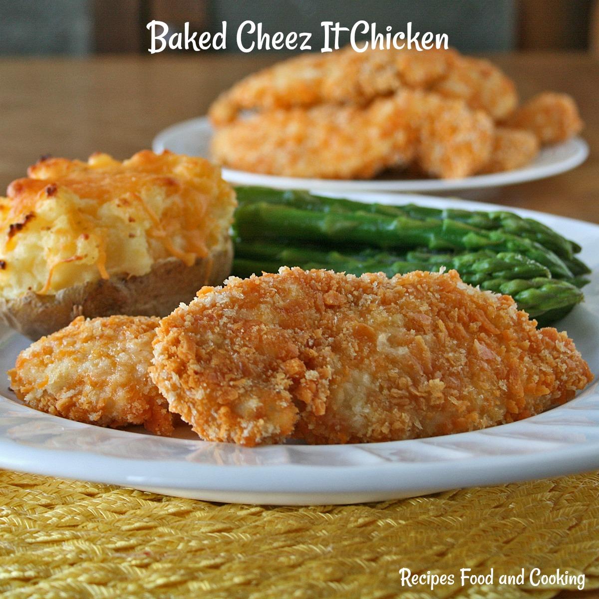 Baked Cheez It Chicken