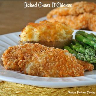 Baked Cheez It Chicken