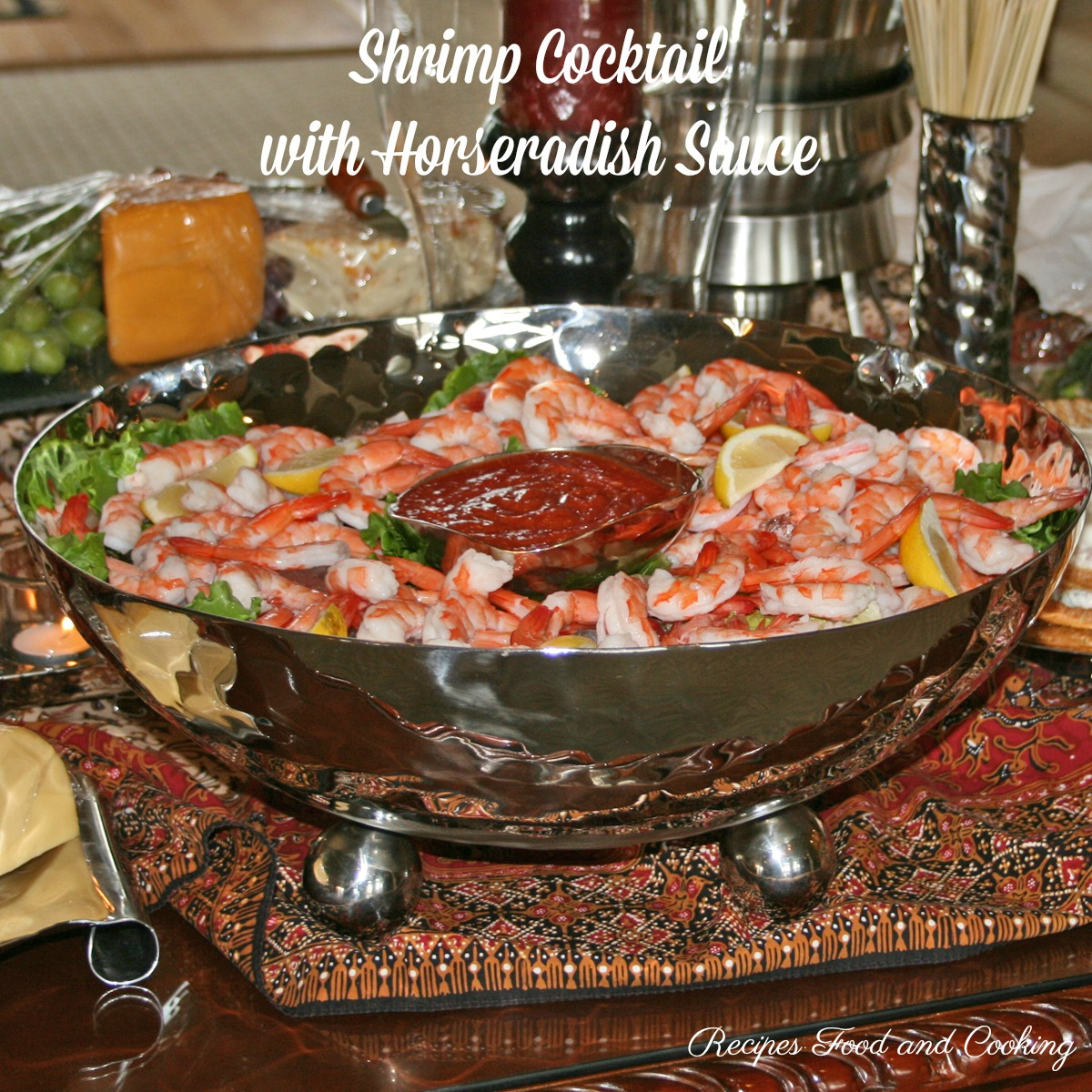 Shrimp Cocktail  with Horseradish Sauce