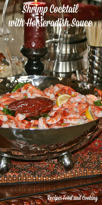 Shrimp Cocktail with Horseradish Sauce