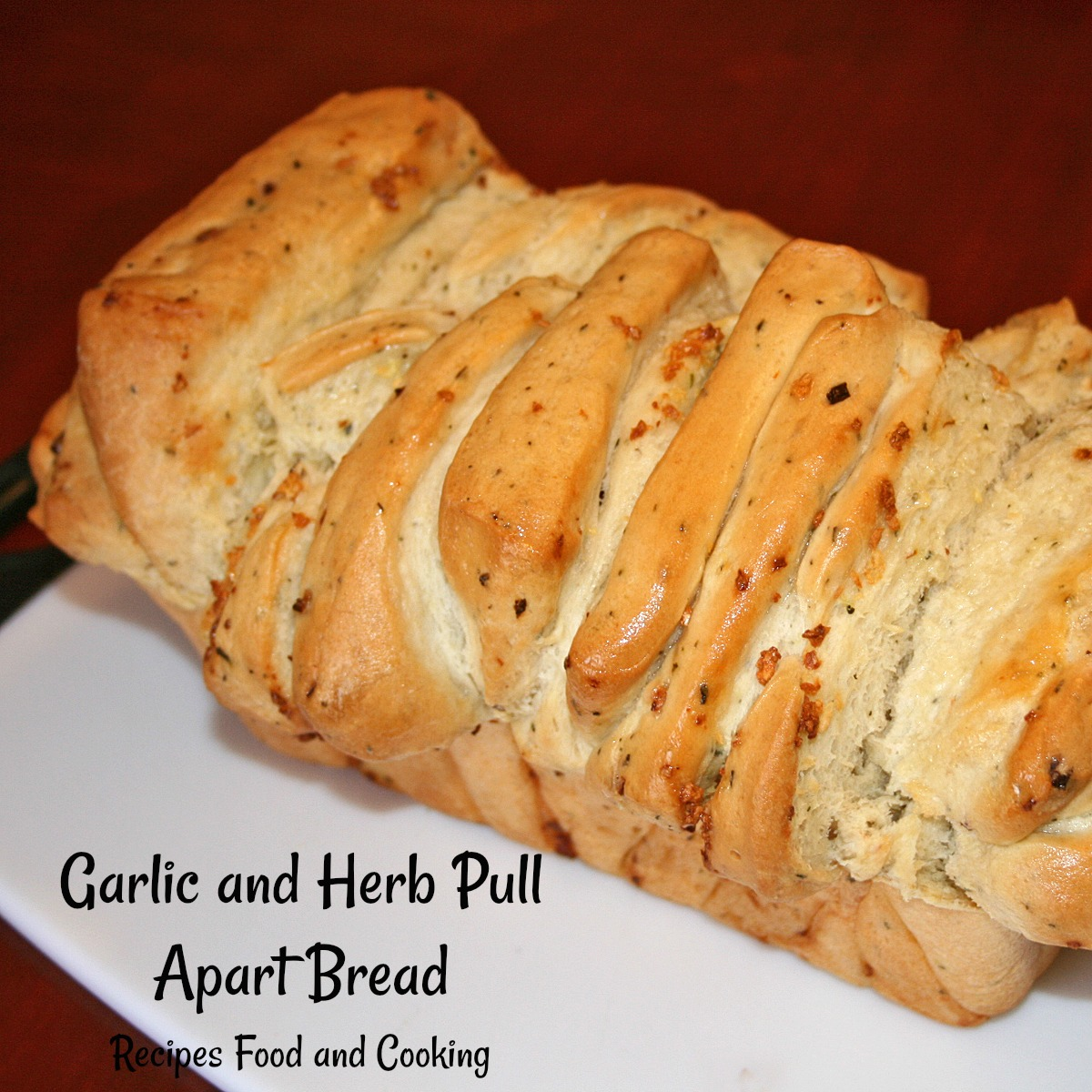 Garlic and Herb Pull Apart Bread