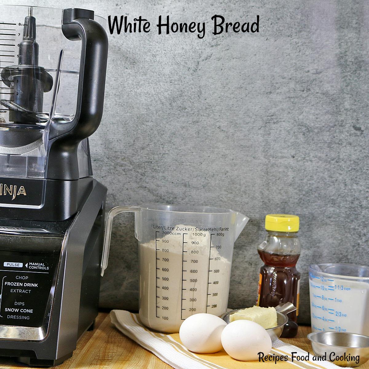 White Honey Bread