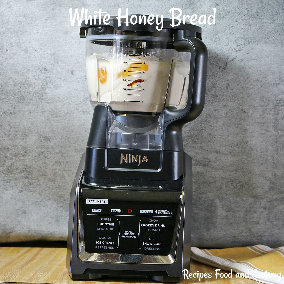 White Honey Bread