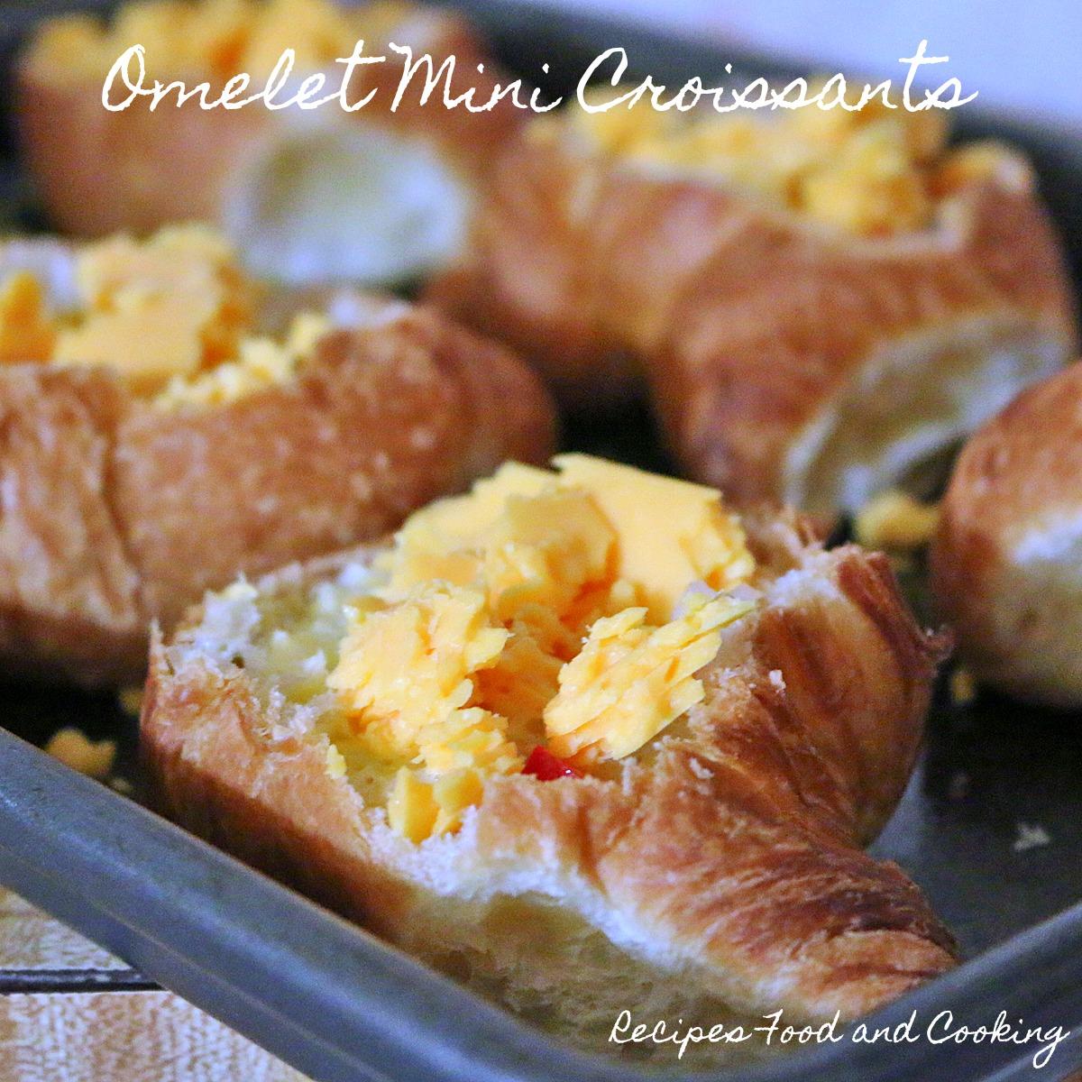 Omelet Mini Croissants