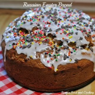 Russian Easter Bread