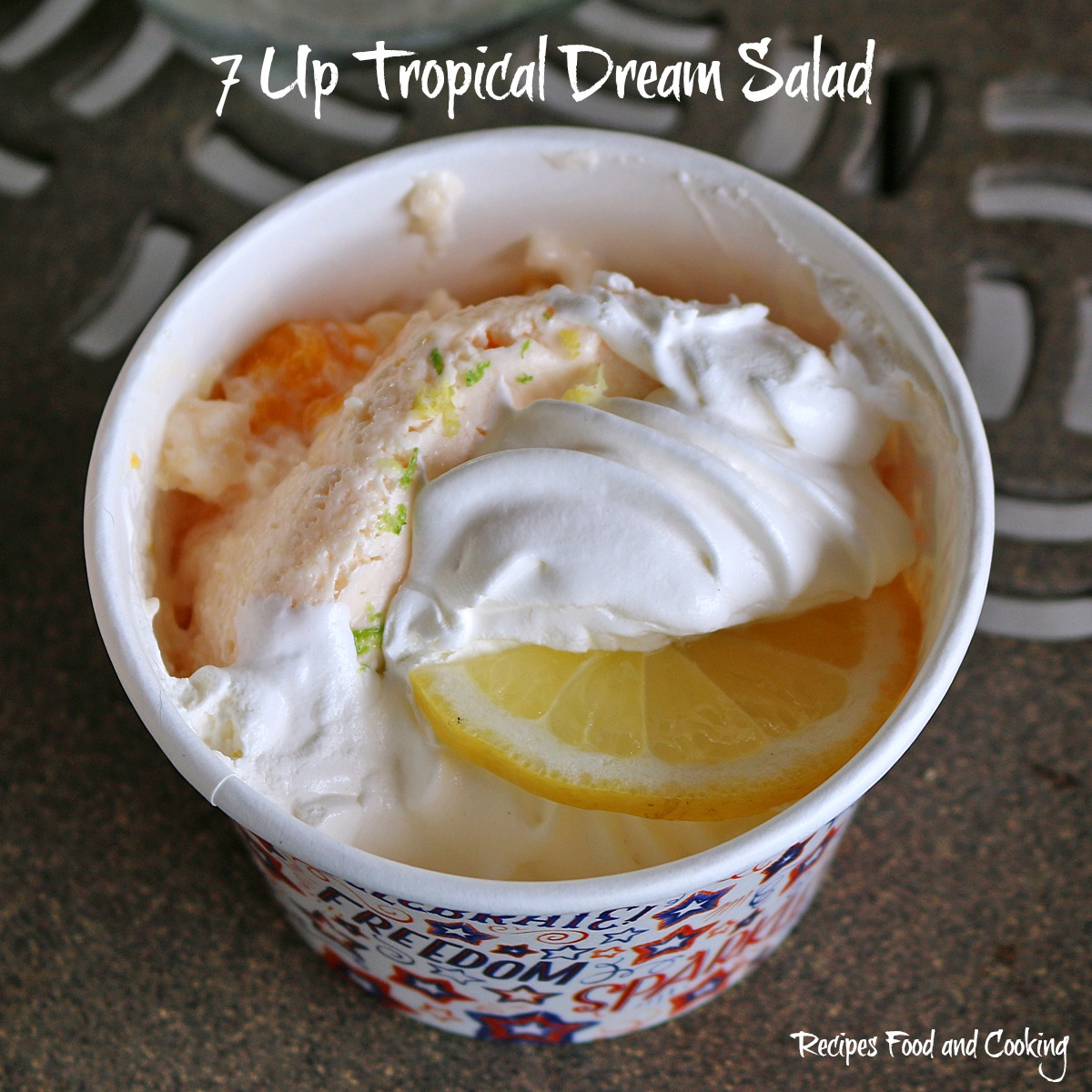 7 UP Tropical Dream Salad