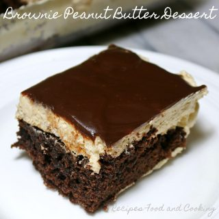 Brownie Peanut Butter Dessert