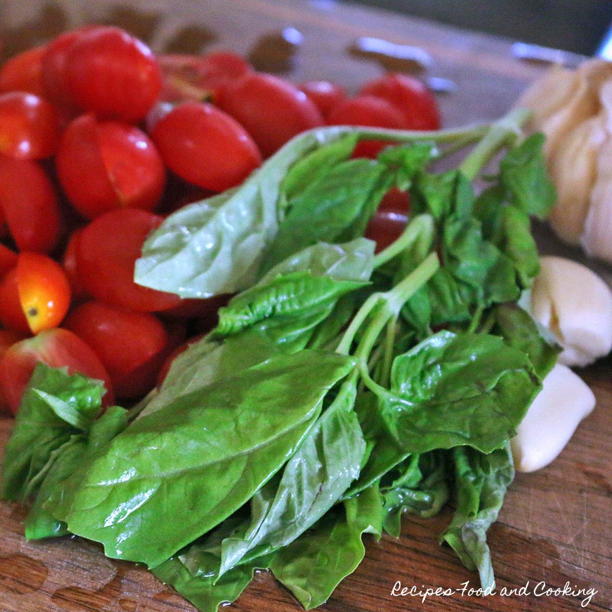 Tortellini Caprese Salad