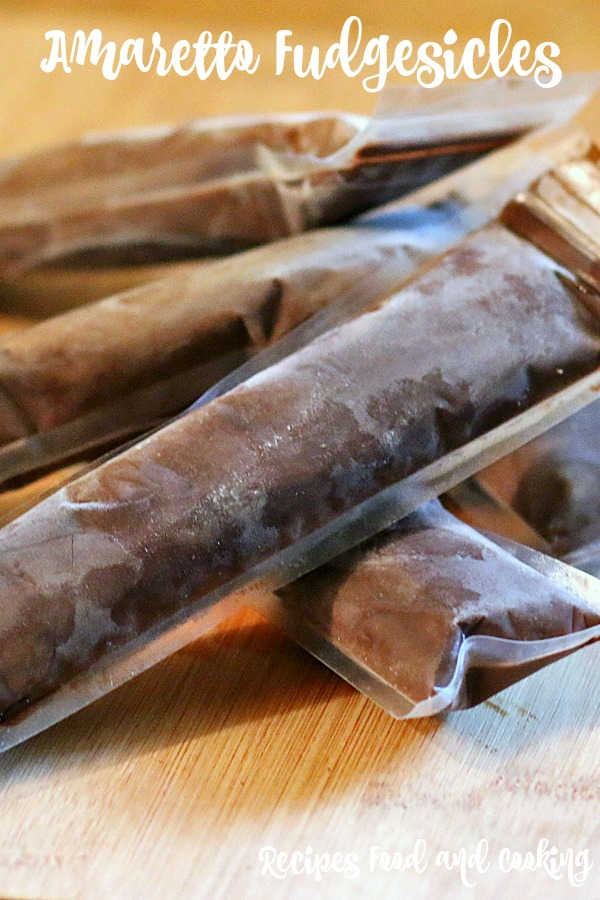Amaretto Fudgesicles
