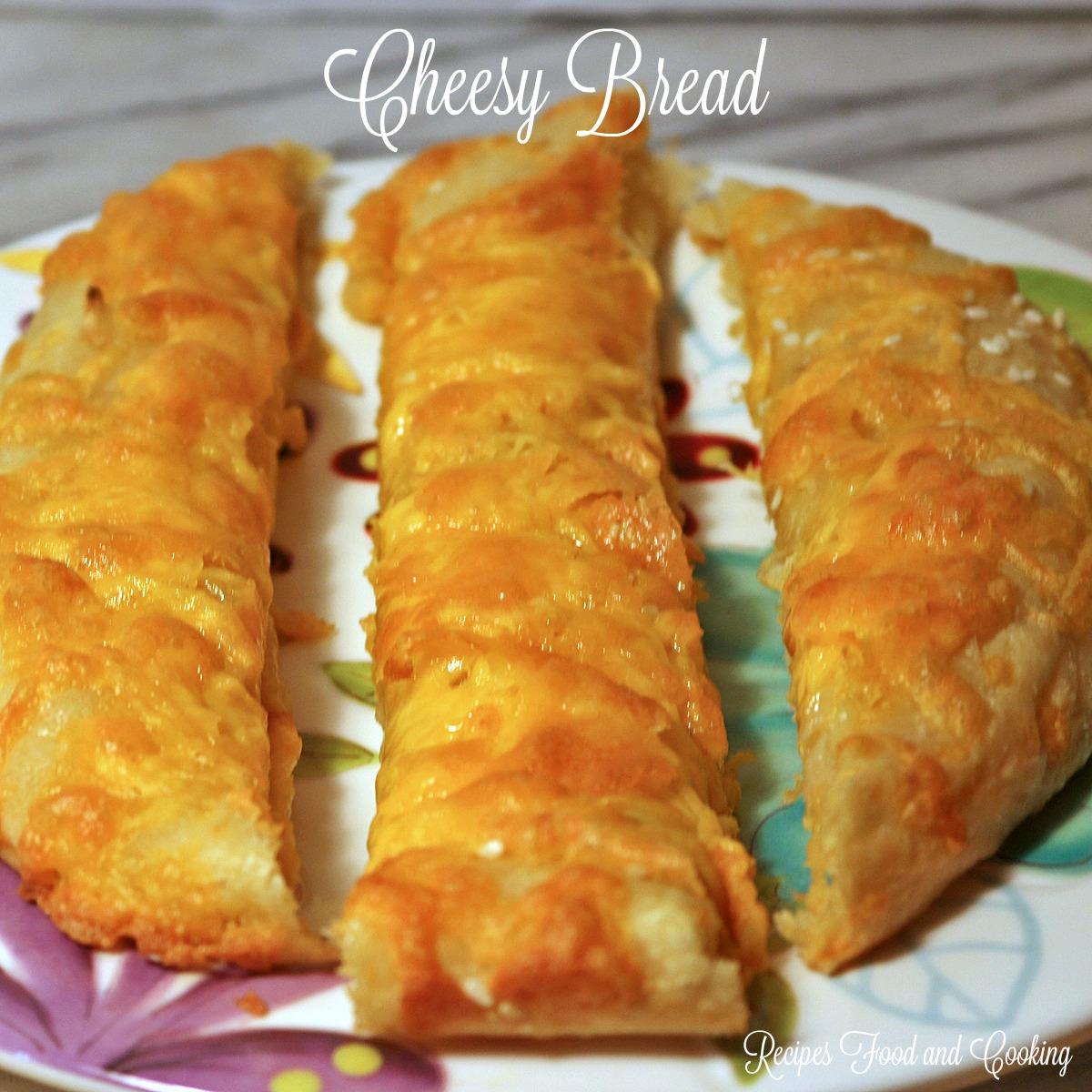 Cheddar Cheese Cheesy Bread