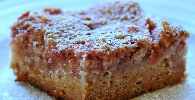 Strawberry Ooey Gooey Butter Cake
