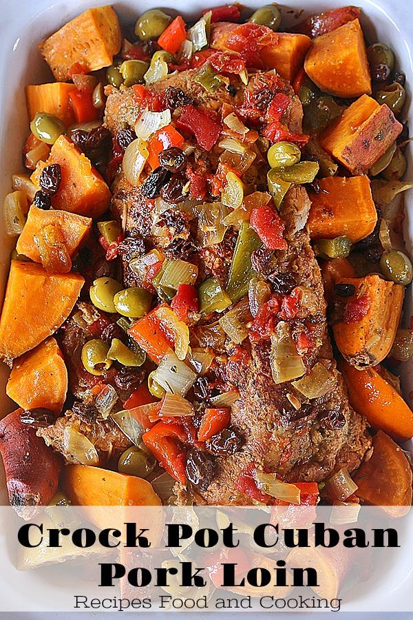 Crock Pot Cuban Pork Loin At Recipes Food And Cooking