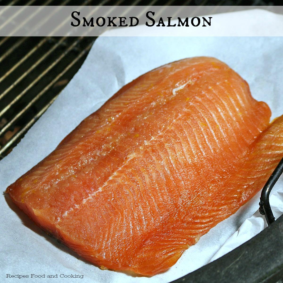 Kamado Grill Smoked Salmon