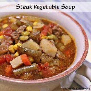 Steak Vegetable Soup