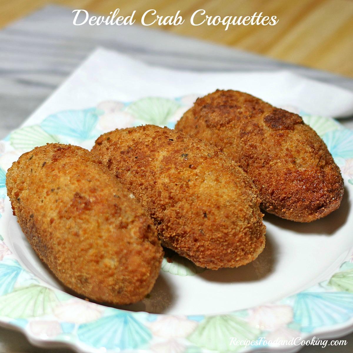 Deviled Crab Croquettes