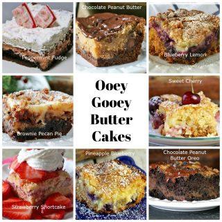 Ooey Gooey Butter Cakes