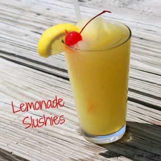 Lemonade Slushies