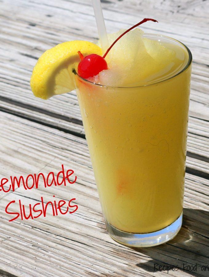 Lemonade Slushies